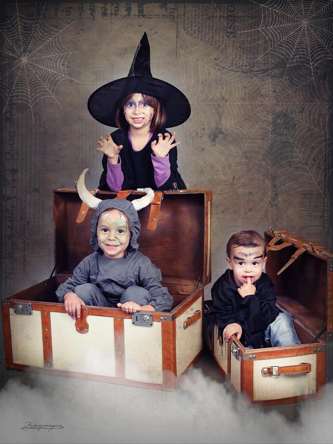 FOTOYMAGEN Halloween Estudio Marchena