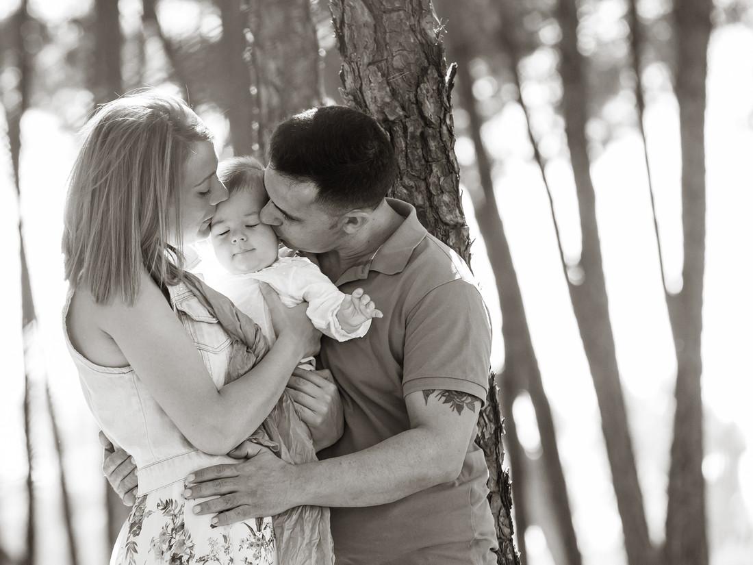 Fotoymagen fotos naturales divertidas book familia Inma y David  (2)