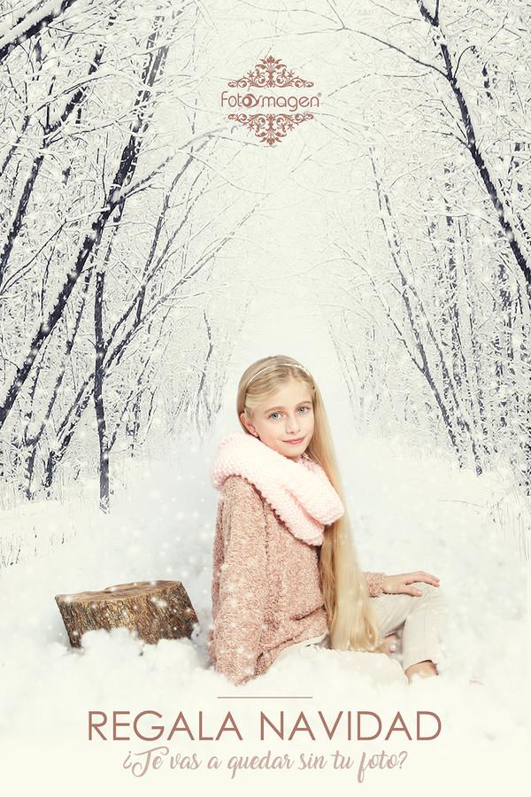 FOTOYMAGEN-Lucia-Navidad-invierno-nieve-pascua